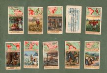 "Collectable igarette cards set Products of the World. 1913. by ""Pirate Cigarettes"""